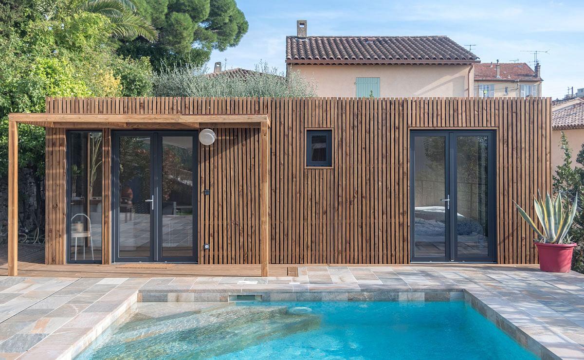 Construire Un Pool House pool house