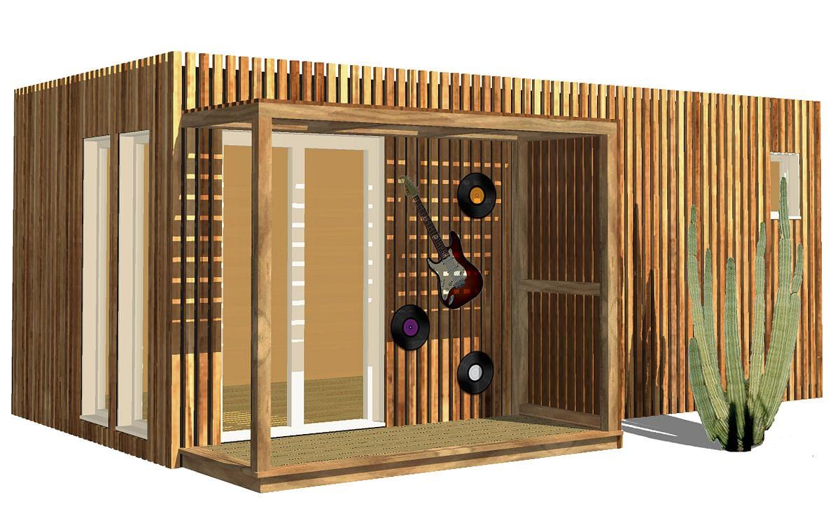 Container Aménagé Studio Prix studio de musique